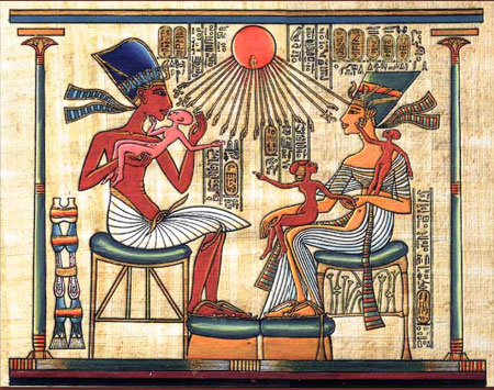 akhenaten art
