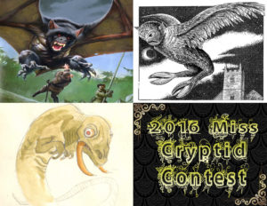 Miss Cryptid 2016 Week 1