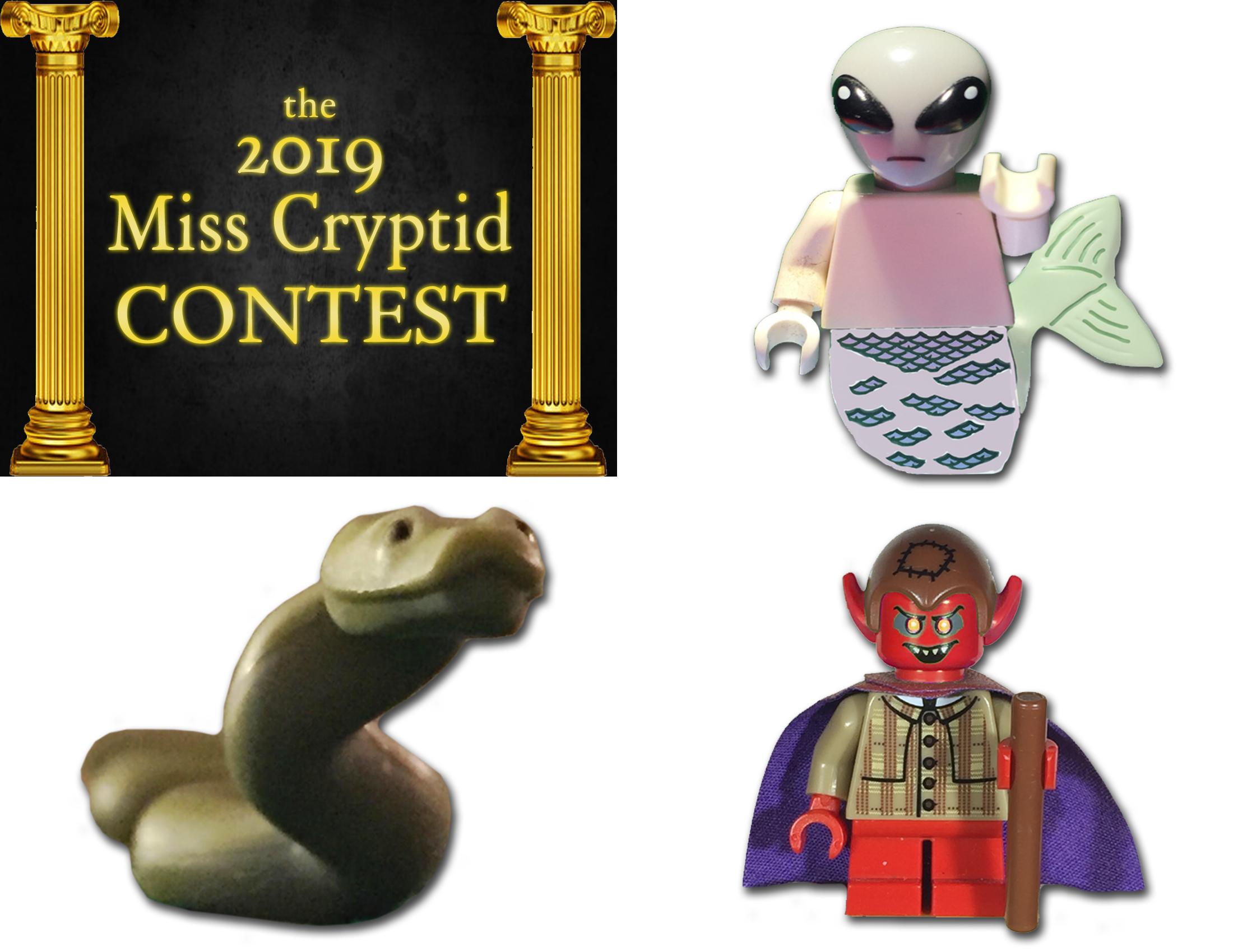 Miss Cryptid 2019 Week 1